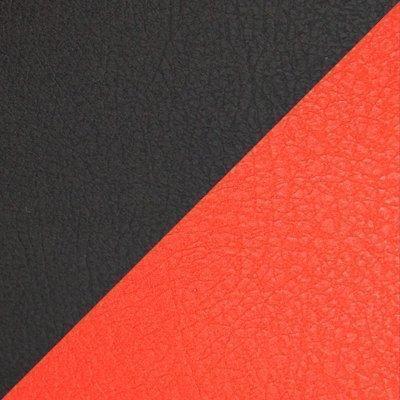 Иск. кожа черная / красная